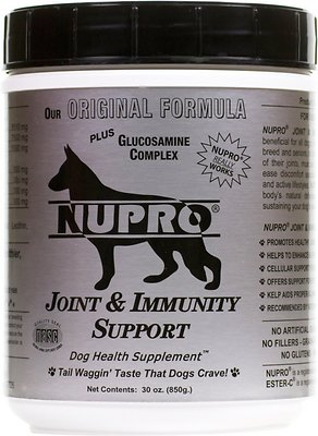Nupro All Natural Joint & Immunity Support Dog Supplement, 30 scoops