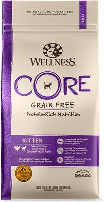 Wellness CORE Grain-Free Kitten Formula Dry Cat Food, 2-lb