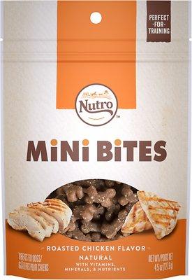 Nutro Mini Bites Roasted Chicken Flavor Dog Treats, 4.5-oz bag