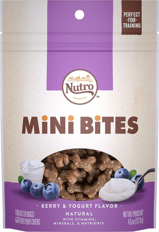 Nutro Mini Bites Berry & Yogurt Flavor Dog Treats Image