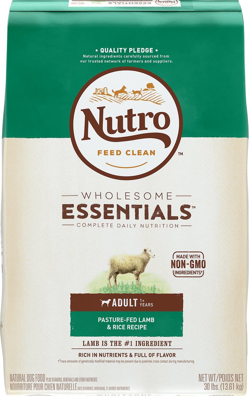Nutro Wholesome Essentials Adult Pasture Fed Lamb & Rice Recipe Dry Dog Food Image
