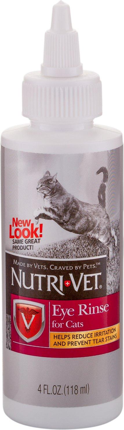 Nutri-Vet Cat Eye Rinse, 4-oz bottle