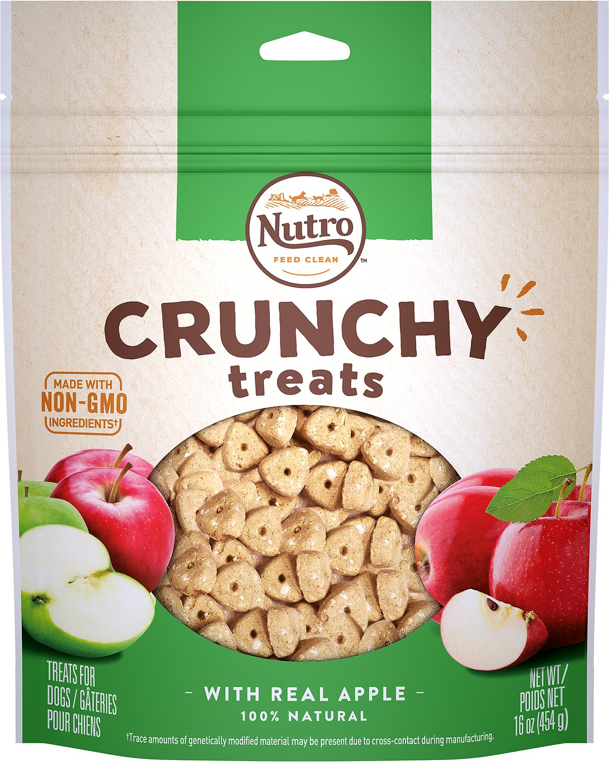Nutro Crunchy with Real Apple Dog Treats Image