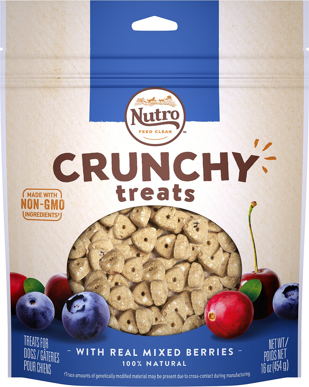 Nutro Crunchy with Real Mixed Berries Dog Treats Image