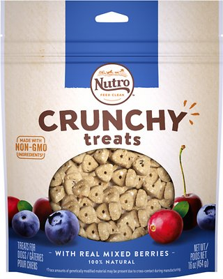 Nutro Crunchy with Real Mixed Berries Dog Treats, 16-oz bag