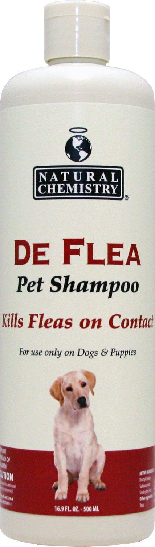 Natural Chemistry De Flea Shampoo for Dogs & Puppies, 16.9-oz bottle
