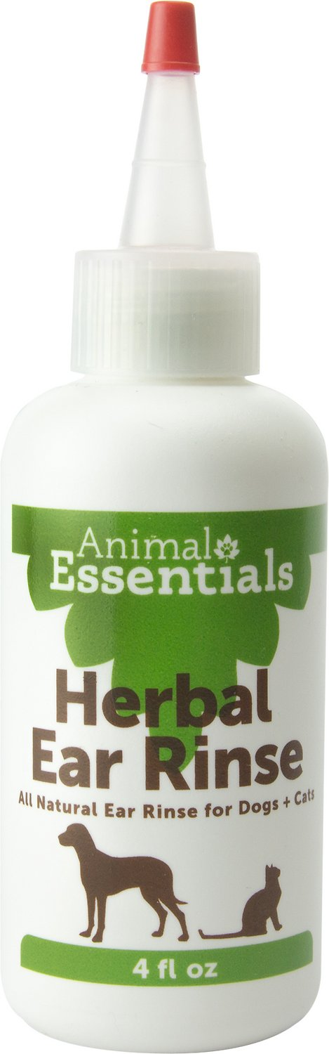 Animal Essentials Herbal Ear Rinse for Dogs & Cats, 4-oz bottle Image
