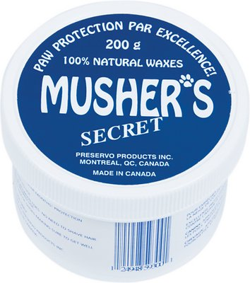 Musher's Secret Paw Protection Natural Dog Wax, 200-g jar