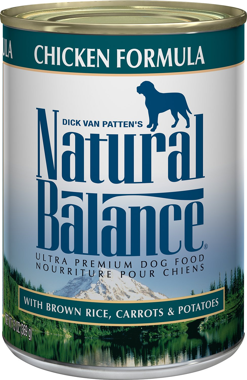 Natural Balance Ultra Premium Chicken Formula Canned Dog Food Image