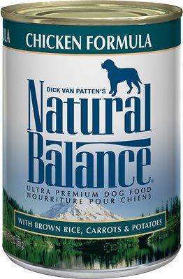 Natural Balance Ultra Premium Chicken Formula Canned Dog Food, 13-oz, case of 12