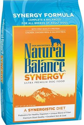 Natural Balance Synergy Formula Dry Dog Food, 26-lb bag