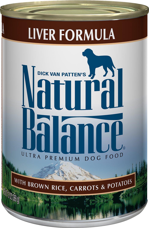 Natural Balance Ultra Premium Liver Formula Canned Dog Food Image