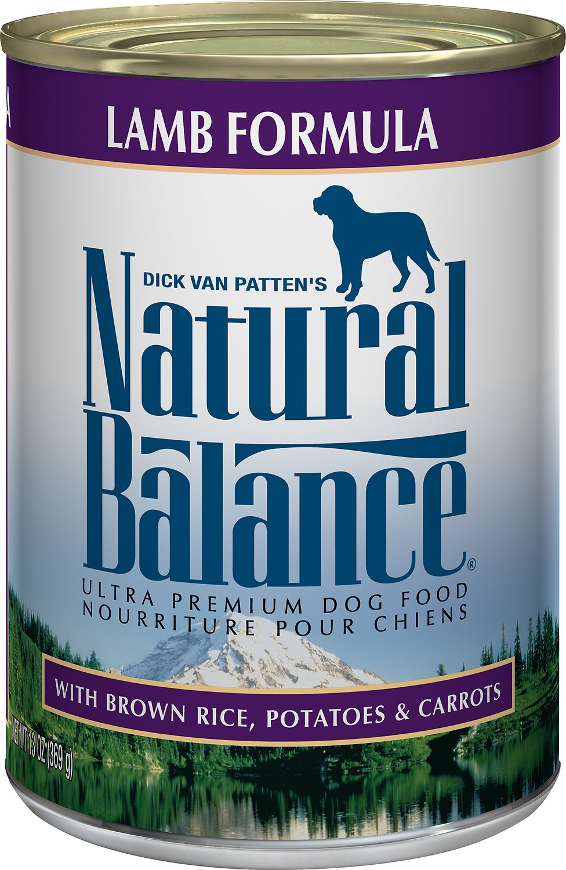 Natural Balance Ultra Premium Lamb Formula Canned Dog Food Image