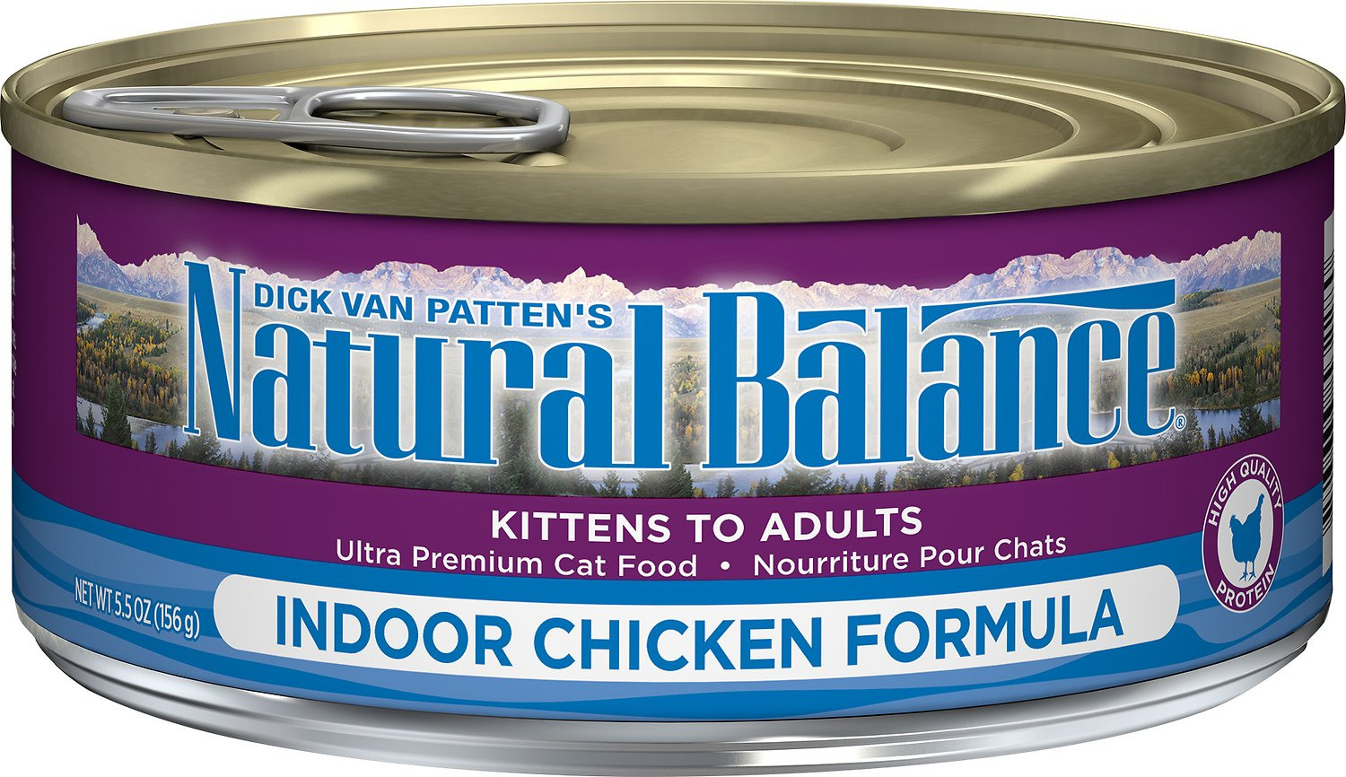 Natural Balance Ultra Premium Indoor Chicken Formula Canned Cat Food Image