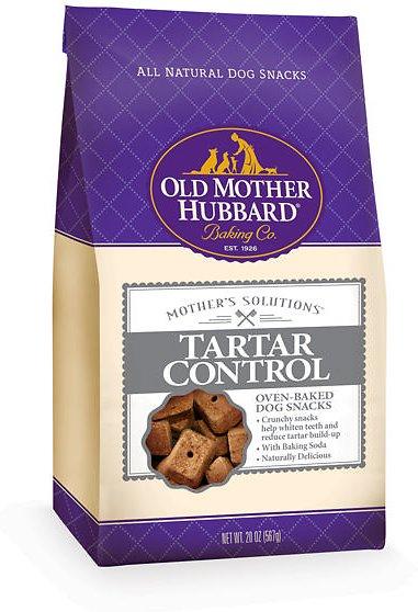 Old Mother Hubbard Mother's Solution's Tartar Control Baked Dog Treats, 20-oz bag