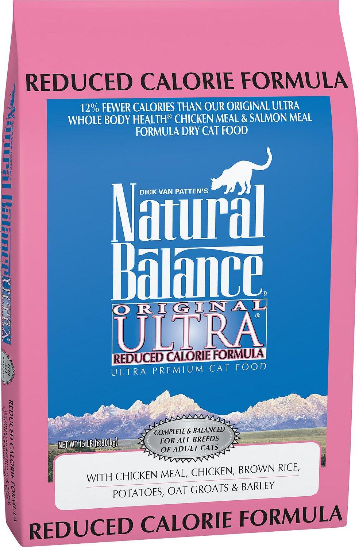 Natural Balance Original Ultra Reduced Calorie Formula Dry Cat Food Image