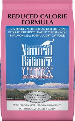 Natural Balance Original Ultra Reduced Calorie Formula Dry Cat Food, 6-lb bag
