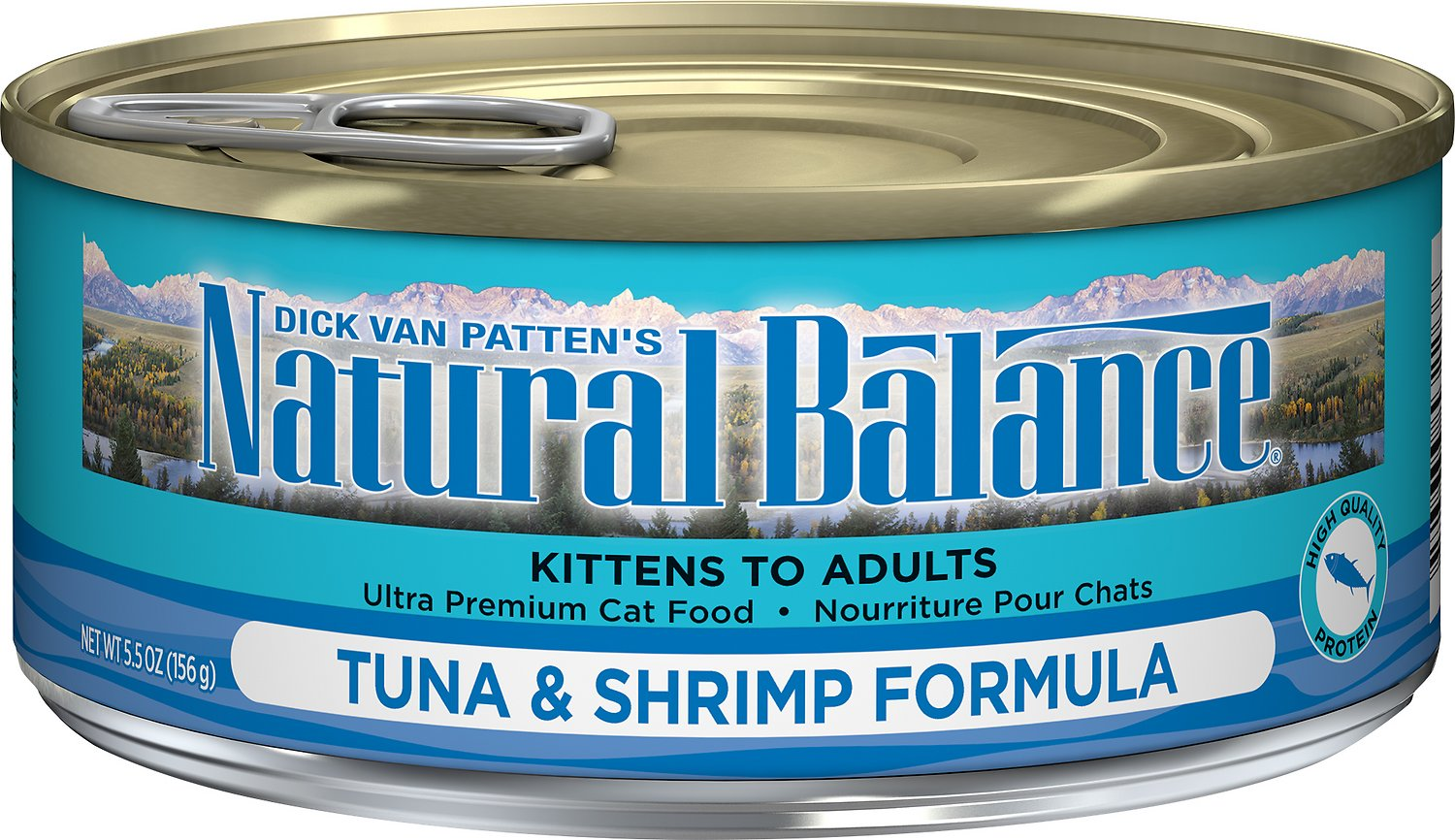 Natural Balance Ultra Premium Tuna with Shrimp Formula Canned Cat Food Image