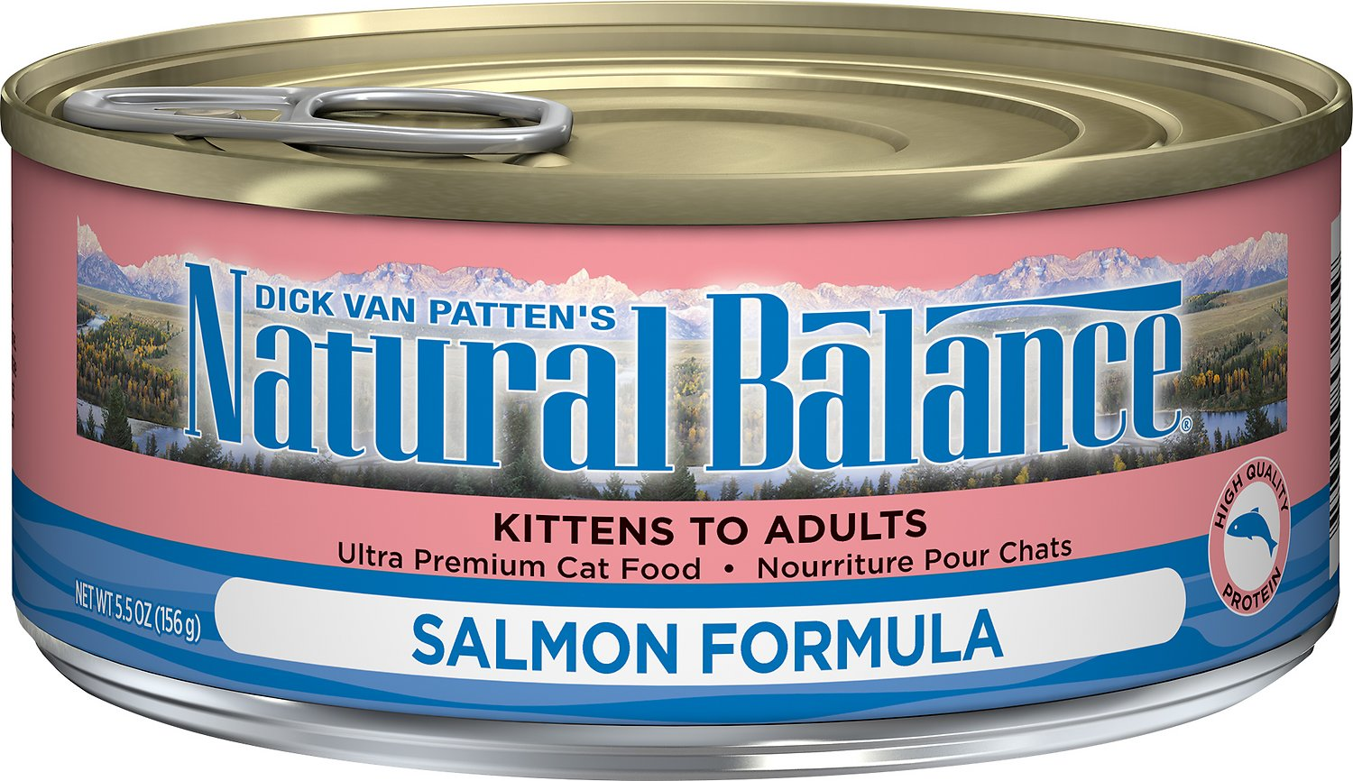Natural Balance Ultra Premium Salmon Formula Canned Cat Food Image