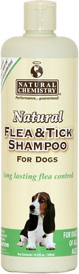 Natural Chemistry Natural Flea & Tick Shampoo for Dogs, 16.9-oz bottle