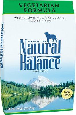 Natural Balance Vegetarian Formula Dry Dog Food, 28-lb bag