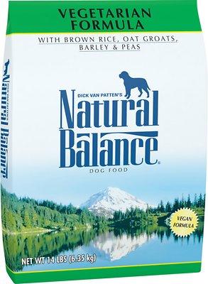 Natural Balance Vegetarian Formula Dry Dog Food, 14-lb bag