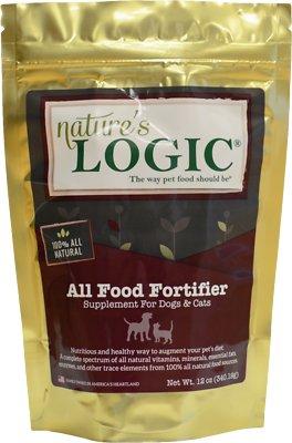 Nature's Logic All Food Fortifier Dog & Cat Supplement, 12-oz bag