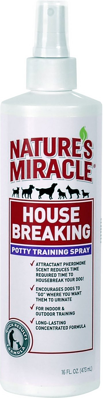 Nature's Miracle House-Breaking Potty Training Spray Image