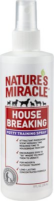 Nature's Miracle House-Breaking Potty Training Spray, 8-oz