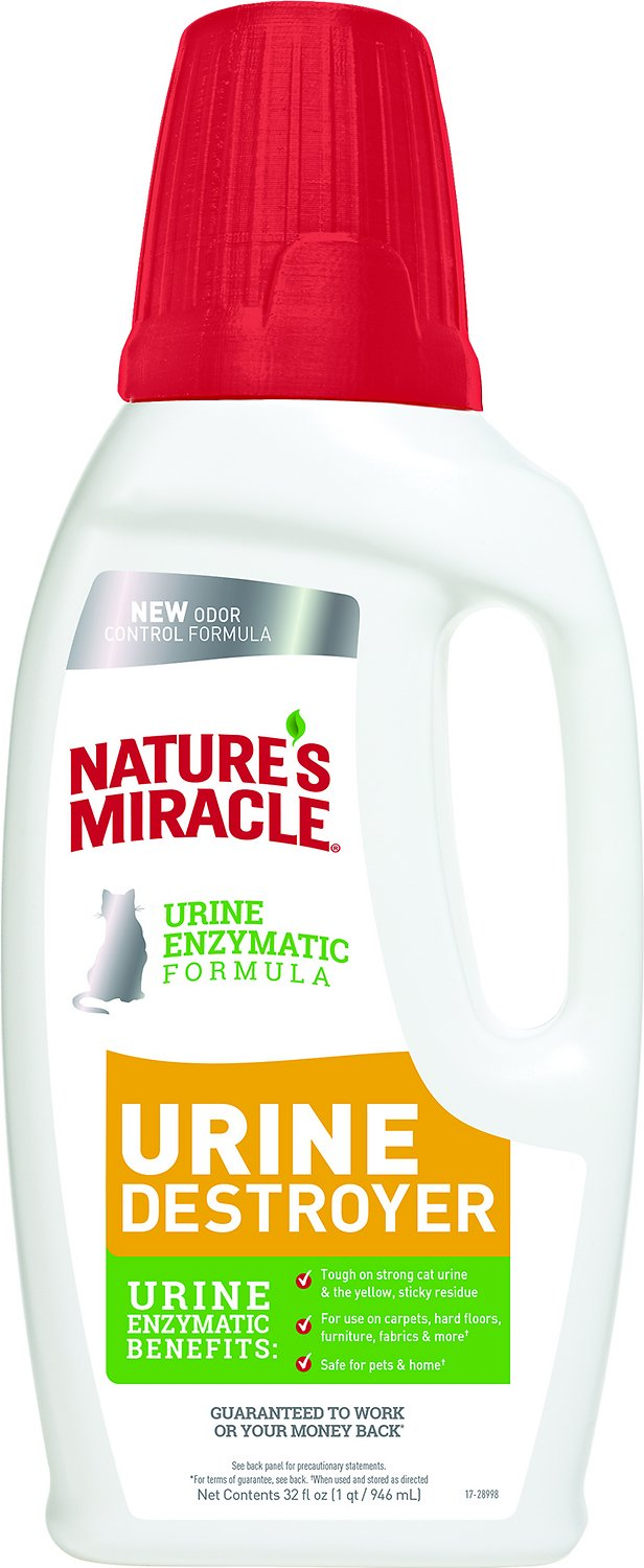 Nature's Miracle Cat Urine Destroyer, 32-oz bottle