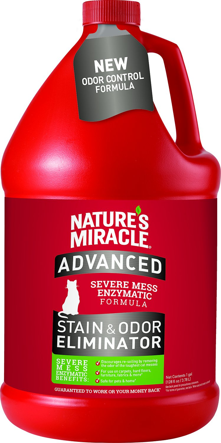 Nature's Miracle Advanced Just For Cats Stain & Odor Remover Image