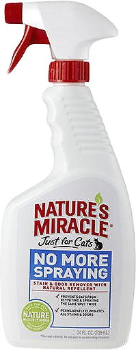 Nature's Miracle Just For Cats No More Spraying Spray, 24-oz spray