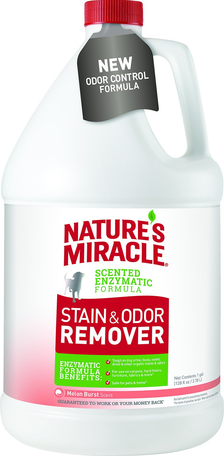 Nature's Miracle Dog Stain & Odor Remover Melon Burst Image
