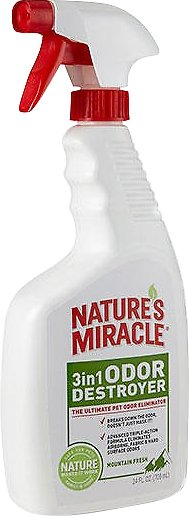 Nature's Miracle Mountain Fresh 3 in 1 Odor Destroyer, 24-oz bottle