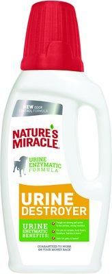 Nature's Miracle Dog Urine Destroyer, 32-oz bottle