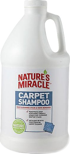 Nature's Miracle Deep Cleaning Carpet Shampoo, 64-oz bottle (Weights: 4.0 pounds) Image