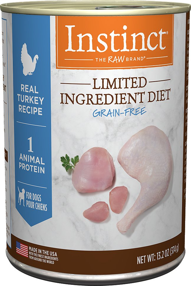Instinct by Nature's Variety Limited Ingredient Diet Grain-Free Real Turkey Recipe Natural Wet Canned Dog Food Image