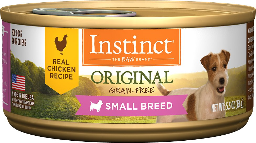 Instinct by Nature's Variety Original Small Breed Grain-Free Real Chicken Recipe Natural Wet Canned Dog Food Image