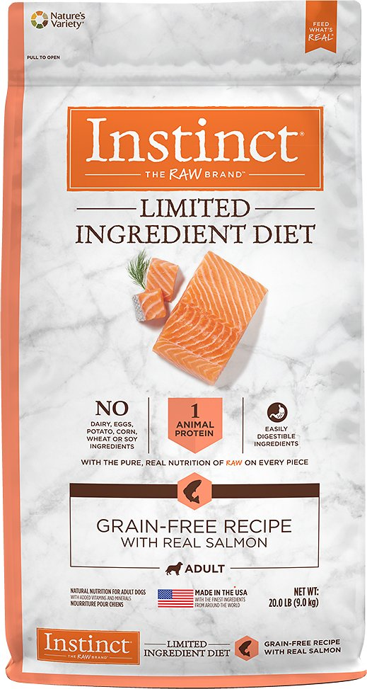 Instinct by Nature's Variety Limited Ingredient Diet Grain-Free Recipe with Real Salmon Dry Dog Food Image