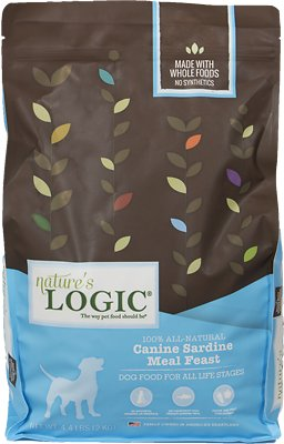 Nature's Logic Canine Sardine Meal Feast Dry Dog Food, 4.4-lb bag