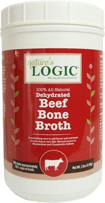 Nature's Logic Dehydrated Beef Bone Broth Dog & Cat Supplement, 2-lb tub