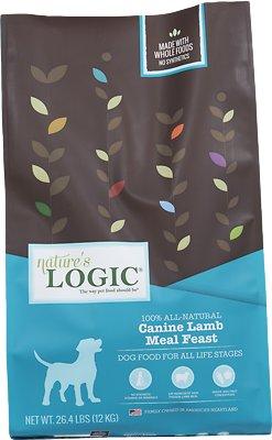 Nature's Logic Canine Lamb Meal Feast Dry Dog Food, 26.4-lb bag