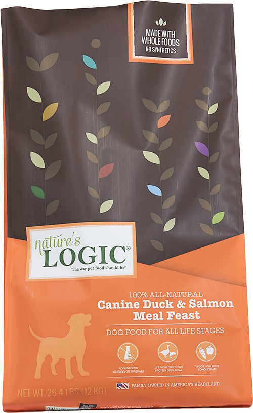 Nature's Logic Canine Duck & Salmon Meal Feast Dry Dog Food Image