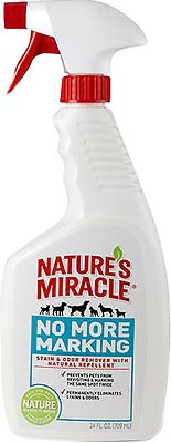 Nature's Miracle No More Marking Pet Stain & Odor Remover, 24-oz bottle