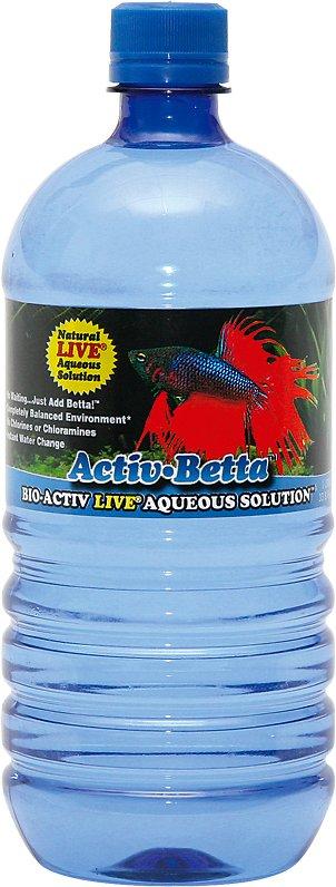 Activ-Betta Bio-Activ Live Aqueous Solution Betta Water, 33.8-oz bottle
