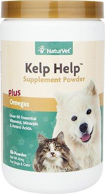 NaturVet Kelp Help Mineral & Vitamin Dog & Cat Powder Supplement, 1-lb