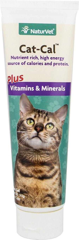 NaturVet Cat-Cal Nutritional Cat Gel, 5-oz bottle