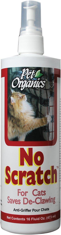 NaturVet Pet Organics No Scratch for Cats, 16-oz bottle Image