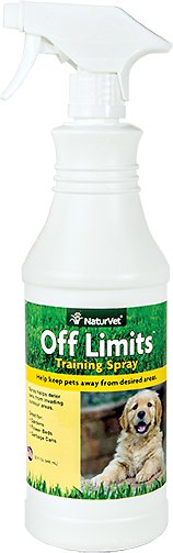 NaturVet OFF Limits! Keeps Pets Away Naturally Ready To Use Spray, 32-oz bottle
