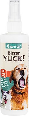 NaturVet Bitter YUCK! No Chew Dog, Cat & Horse Spray, 8-oz bottle